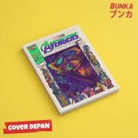 Notebook Marvel Avengers Rocket Raccoon Hardcover A5 Buku Catatan