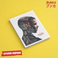 Notebook Stranger Things 2A Hardcover A5 Buku Tulis Catatan Note