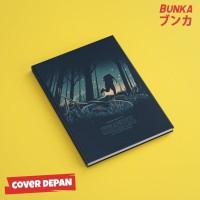Notebook Stranger Things 7A Hardcover A5 Buku Tulis Catatan Note
