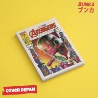 Notebook Marvel Avengers Vision Hardcover A5 Buku Tulis Catatan Note