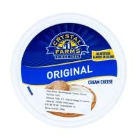 Crystal farms original cream cheese 226 gr