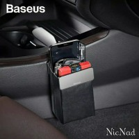 Baseus Magic Car Storage Rack Car Organizer Gantungan HP Kantong Mobil