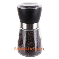 Lada Hitam dengan gilingan black Pepper with Mill 80g Banmala Spices