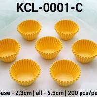 KCL-0001-C Kertas cupcake DIVA cupcake case kertas nastar mini warna
