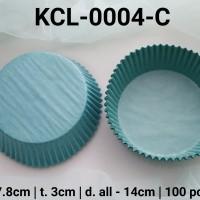 KCL-0004-C Kertas cupcake DIVA cupcake case besar large warna