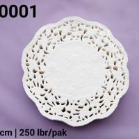 """DR-0001 DIVA paper doyleys alas kue kertas renda bulat round 4.5"""""""