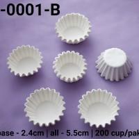 RCC-0001-B Kertas cupcake kertas nastar dragon pack mini putih