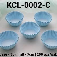 KCL-0002-C Kertas cupcake DIVA cupcake case kertas nastar kecil warna