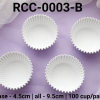 RCC-0003-B Kertas cupcake dragon pack medium putih