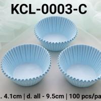 KCL-0003-C Kertas cupcake DIVA cupcake case ukuran sedang warna