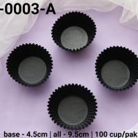 RCC-0003-A Kertas cupcake dragon pack medium hitam