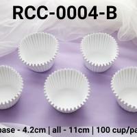 RCC-0004-B Kertas cupcake dragon pack besar putih