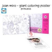 Zoetoys Joan Miro - Giant Coloring Poster | mainan edukasi | edutoys