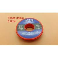 Timah Solder Dekko 0.8mm 50 gra