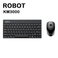 Keyboard + Mouse Wireless ROBOT KM3000 Combo Mini Multimedia