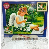 Paket Melukis Paint By Number Dimensions 91312 Darling Angel Malaikat