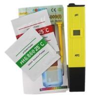Pengukur pH meter air akuarium // kolam budidaya