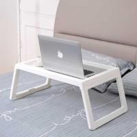 Meja Lipat Laptop Belajar dengan Sisi Tepi