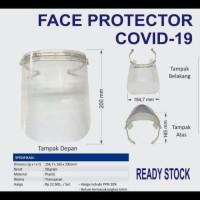 Pelindung Wajah Droplet / Face Shield / Mask Protection Pabrik Kantor