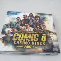 CD Lagu Original Soundtrack Album COMIC 8 Casino Kings Part1 isi 2 Cd