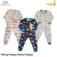 Velvet Junior Setelan Oblong Panjang + Celana Panjang / Setelan Baju