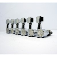 Dryer Gitar Elektrik Sejajar Screwless Chrome