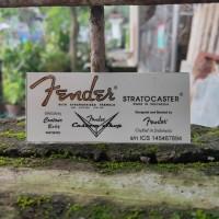 Sticker Decal Headstock Logo fender stratocaster