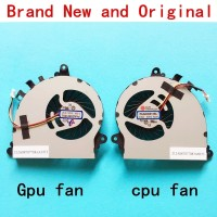 New laptop CPU GPU cooling fan Cooler Notebook PC for MSI gs70 gs72 2P