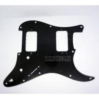 Pickguard Fender Blacktop Humbucker-humbucker 3 ply Black