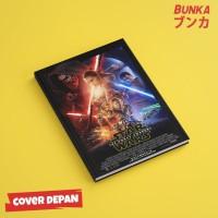 Notebook Star Wars 7A Hardcover A5 Buku Tulis Catatan Agenda Planner