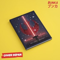 Notebook Star Wars 6A Hardcover A5 Buku Tulis Catatan Note Agenda