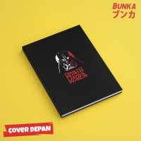 Notebook Star wars Darth Vader Hardcover A5 Buku Tulis Catatan Agenda