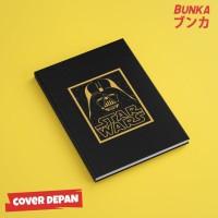 Notebook Star Wars 8A Hardcover A5 Buku Tulis Catatan Agenda Planner