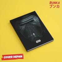 Notebook Star Wars 5A Hardcover A5 Buku Tulis Catatan Note Agenda
