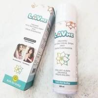 Lavme Organic Anti Bacterial Spray and Odor Eliminator 250ml   Organik