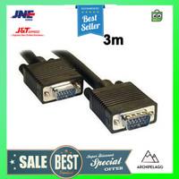 EASYIDEA Kabel VGA 15 Pin Male ke Male 3 Meter - HV1020