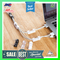 CARPRIE Klip Kabel Organizer Cable Clip 20 PCS - FT-8018 - Black