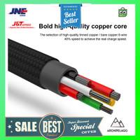 Baseus Speed Series Kabel Charger USB Type C 5A 1 Meter - Black