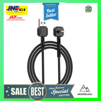 AWEI Kabel Charger Lightning & Phone Stand - CL-65 - Black