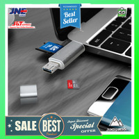 BUBM Memory Card Reader OTG 5 in 1 USB Type C + USB Type A + Micro