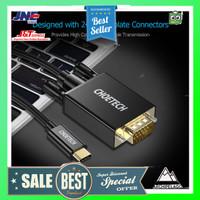CHOETECH Kabel Adapter Converter USB Type C to VGA 1080P 1.8 Meter -