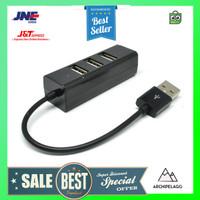 EASYIDEA Portable USB Hub 4 Port - HB3004 - Black