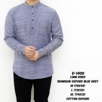 baju koko shanghai pria / kemeja koko panjang best quality