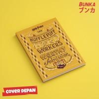 Notebook Harry Potter Hufflepuff Quote Hardcover A5 Buku Catatan