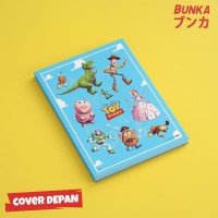 Notebook Toy Story 4A Hardcover A5 Buku Tulis Catatan Note Agenda