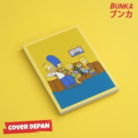 Notebook The Simpsons 3A Hardcover A5 Buku Catatan Agenda Planner