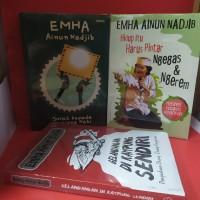paket 3 buku emha Ainun gelandang di kampung sendiri nsurat kepada