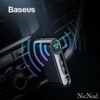 Baseus Car Bluetooth Receiver Aux 3.5mm Wireless Audio Receiver
