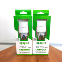 Travel Charger Adaptor Oppo Micro USB 2A - White