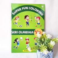Jual Buku Anak Super Fun Coloring Seri Olahraga Kab Sleman Kandang Kancil Art And Book Shop Tokopedia